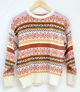 1980s Fair Isle Sweater for Men