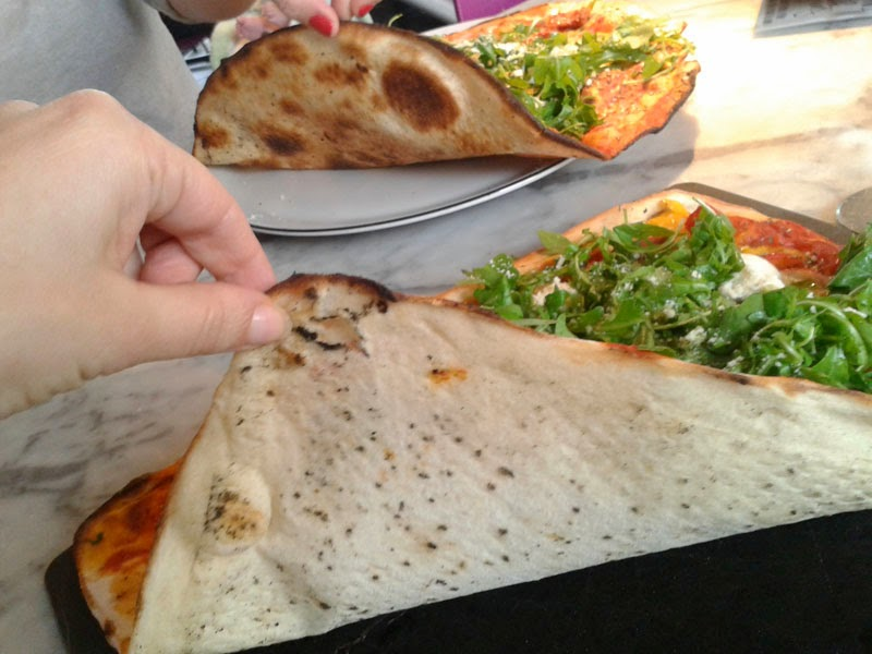 pizza express brighton pizza review