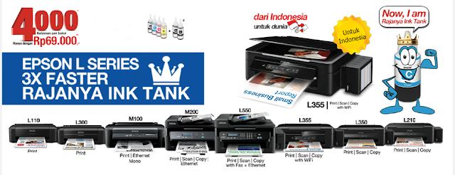 Pusat service epson l series (ink tank) di tangerang