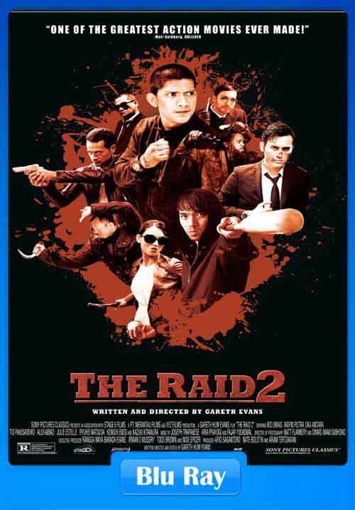 The Raid 2 2014 480p BluRay 450MB x264