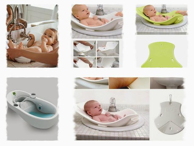 Puj Tub: Soft Infant Bath Design