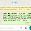 Cara Menciptakan Goresan Pena Menjadi Tebal, Miring, Dan Coret Di Whatsapp