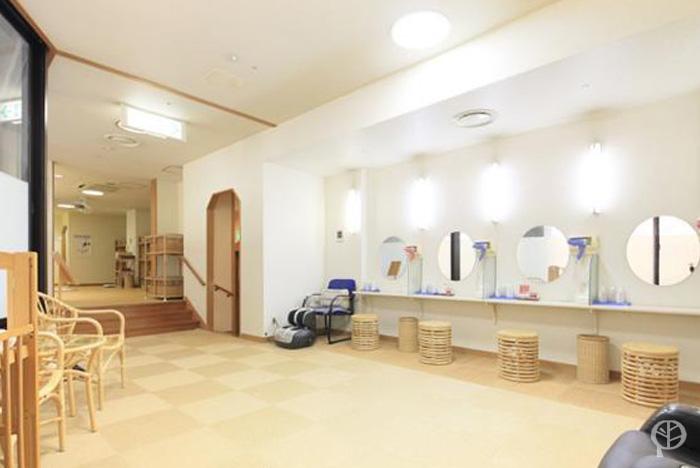 salle de détente bains publics hakone pax yoshino