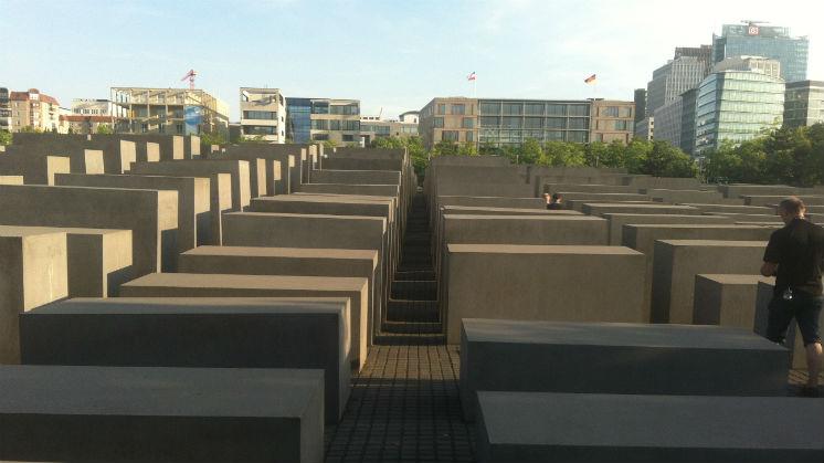 El monumento a los judios asesinados de Berlin