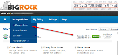Bigrock Custom Domain Setup
