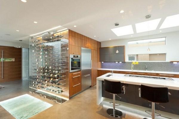 Wine Store Modern Acrylic Shelf Transparent Kitchen