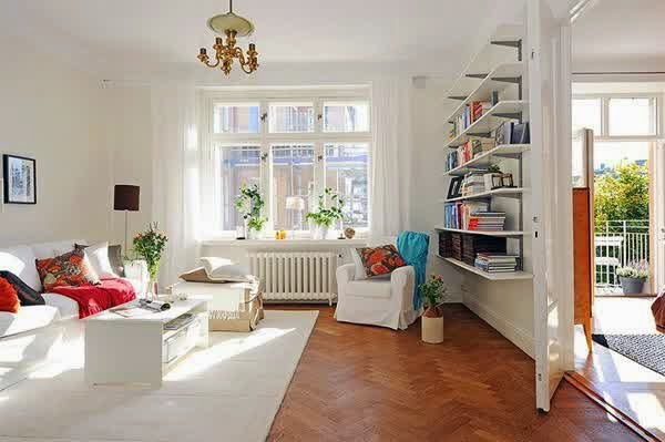 gambar interior ruang tamu minimalis sederhana