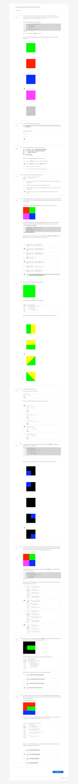 Coursera Quiz Answers