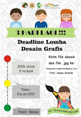 Lomba Desain Grafis i'm on 2017 by Kopma UGM