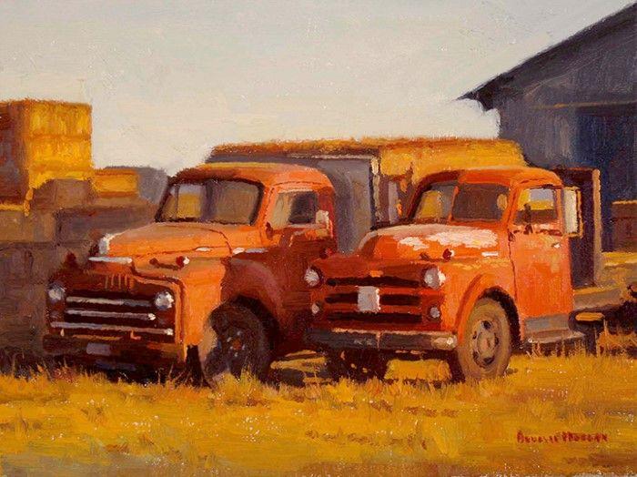 Американский художник. Douglas Paul Morgan