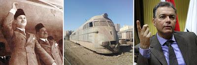 بعد توقف 66 عاما.. عودة قطار الملك فاروق