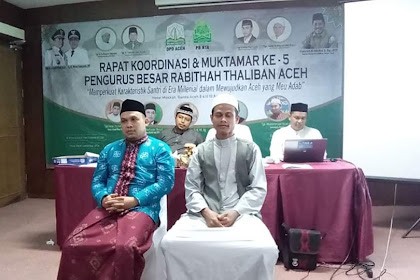 Hasee Muktamar, Teungku Marbawi Yusuf Keu Rais 'Am PB Rabithah Thaliban Aceh