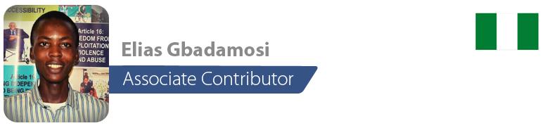 Elias Gbadamosi , IYF Associate Contributor