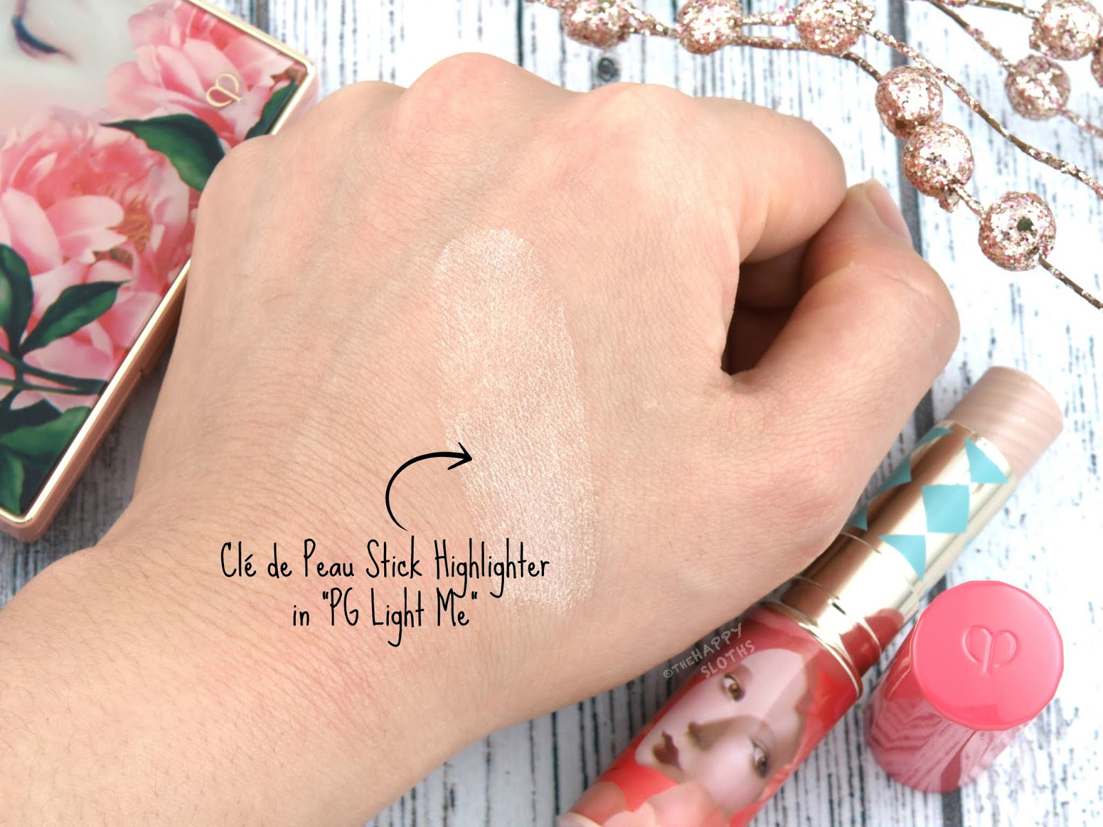 "Clé de Peau | Holiday 2018 Féeries d'Hiver Collection | Stick Highlighter in ""PG Light Me"": Review and Swatches"