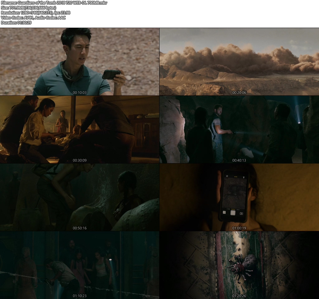 Guardians of the Tomb 2018 720 WEB-DL 700MB | 480p 300MB | 100MB HEVC Screenshot