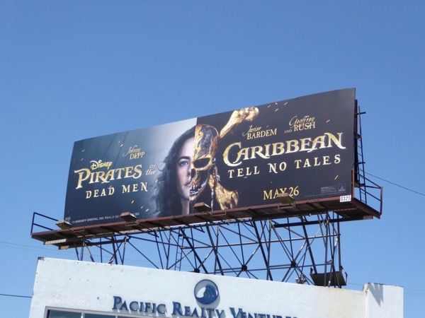 Kaya Scodelario Pirates Caribbean billboard