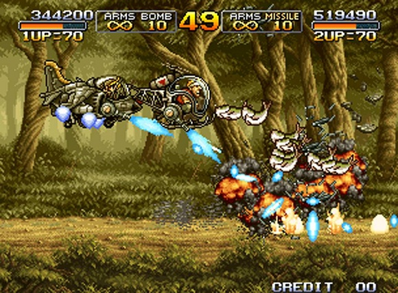 Metal Slug Collection PC Free Download Gameplay