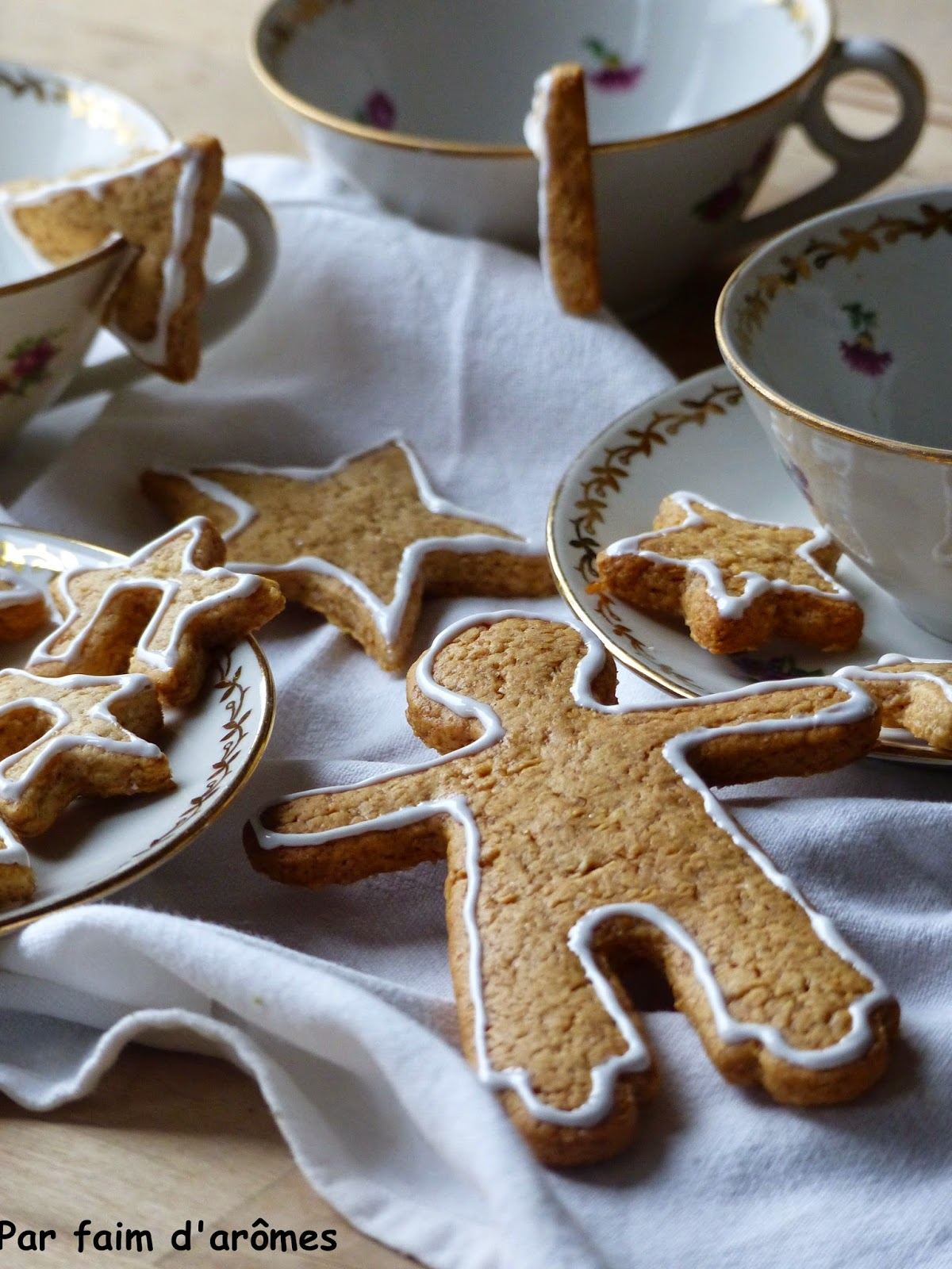 Biscuits de tasse, gingerbread cookies ou bredele