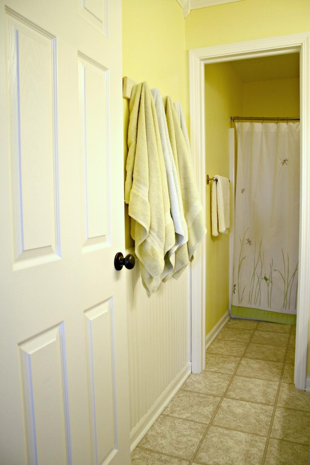 Baby to boy bathroom renovation