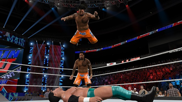 WWE 2K15 PC Free Download Screenshot 1