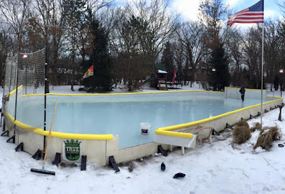 Nicerink Backyard Ice Rink Kit, Build Your Own Hockey Rink ...