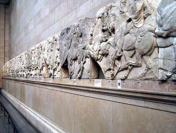 The Partnenon Marbles British Museum, London England