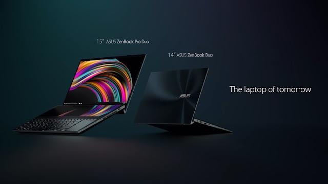 Spesifikasi Asus ZenBook Pro Duo