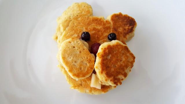 Groundhog Pancakes - Dairy Free, Egg Free, Corn Free, and No Refined Sugar