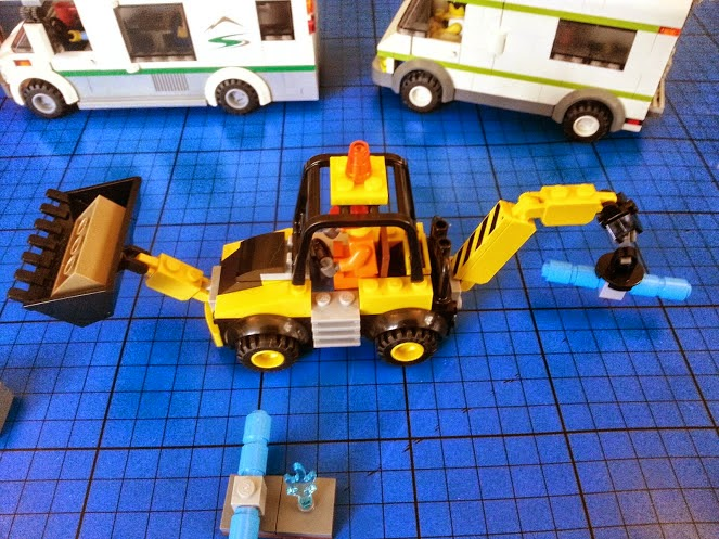 Easy to Build LEGO Digger construction set