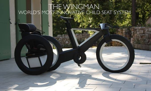 Cyclotron - innovative bicycle