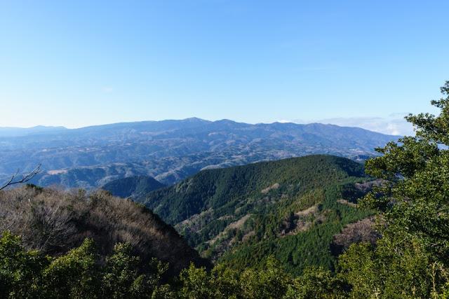 さえずりの丘展望台~伊豆の国パノラマパーク(葛城山)