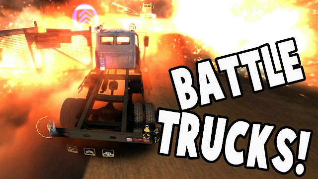 Free Download BattleTrucks PC Game Setup