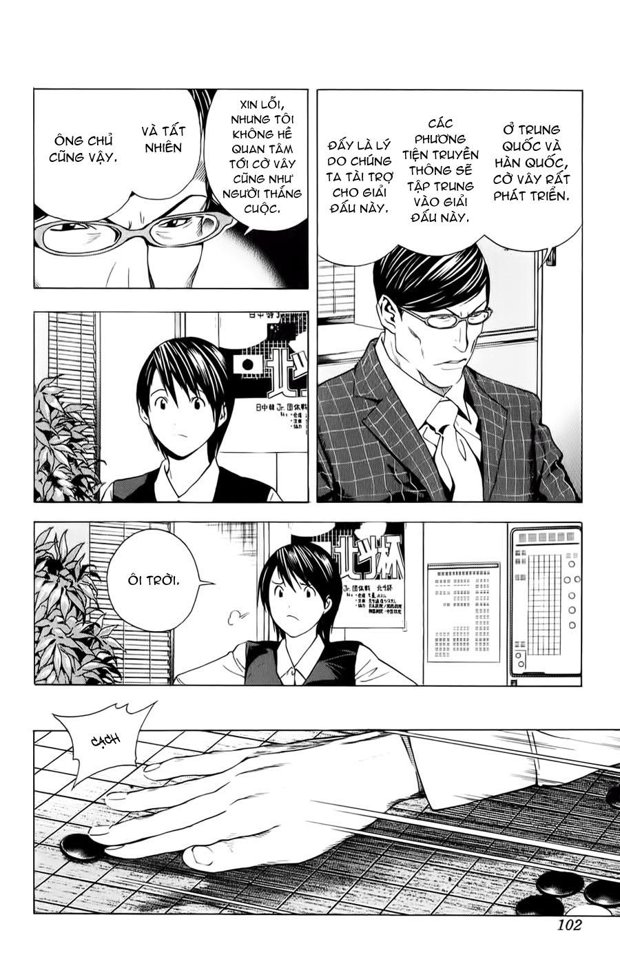 Hikaru No Go hikaru no go chap 152 trang 20