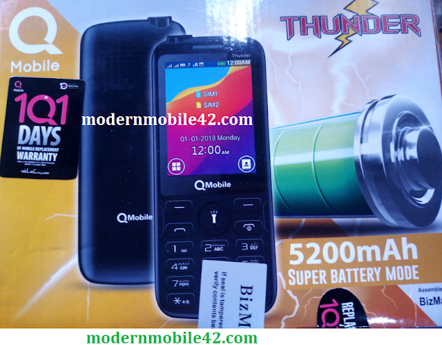 qmobile thunder flash file with boot key cm2
