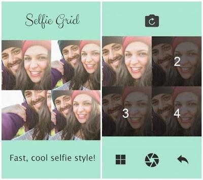 aplikasi selfie drid
