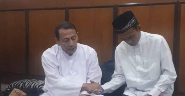 UAS Masuk Thariqah NU, Habib Luthfi Panggil Syaikh Abdul Somad