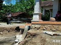 Tanah di Tugurejo Slahung Anjlok hingga 1,5 Meter, 1 Gedung TK Rusak