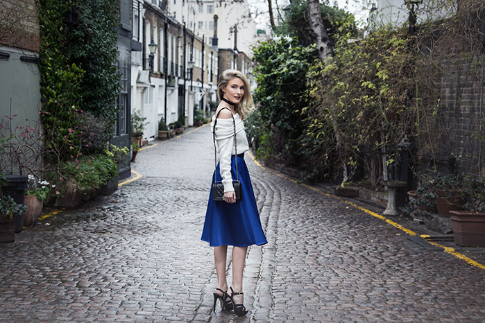 fashion, style, london photoshoot, london mews, coast skirt, kensington photoshoot