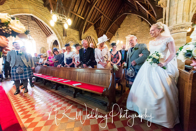 Aberlady Parish Church Wedding Photography