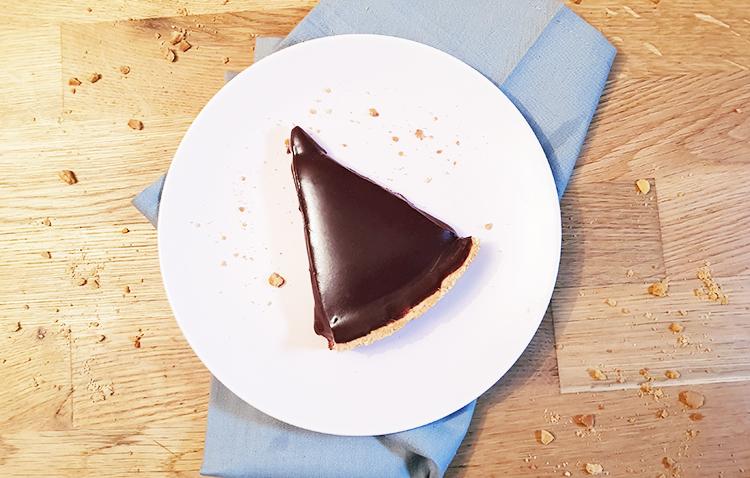 Part de tarte au chocolat