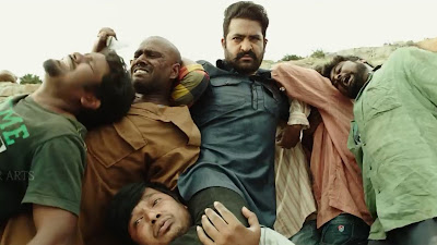 NT Rama Rao Jr Fighting HD Photo In Jai Lava Kusa Movie