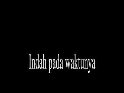 Lirik dan Kord Gitar Indah Pada Waktunya Feby Febiola feat Wawan