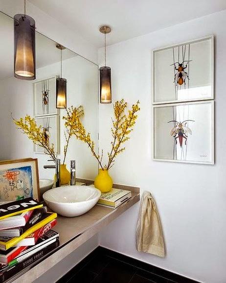 Decotips El baño ¡A CUADROS!: nuevo estilo de decoración ...