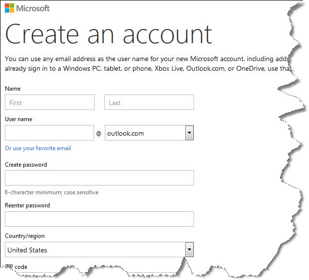 Buat Email outlook,hotmail dan daftar Bing Webmaster tool