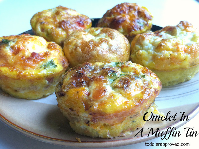 Toddler Approved Cooking With Mom Omelets In A Muffin Tin