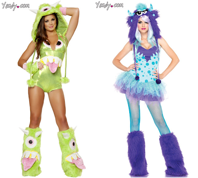 Sexy Disney Halloween costumes to roll your eyes at - Mike and Sulley