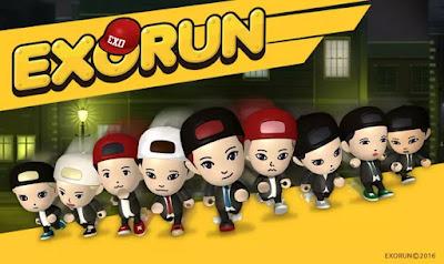 Exo Run : Game Khusus Penggemar Exo