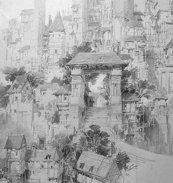 08-PaperBlue-Large-Ghostly-Detailed-Fantasy-City-Expanse-www-designstack-co