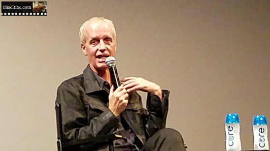 Dan Gilroy in Philadelphia discussing Roman J. Israel, Esq