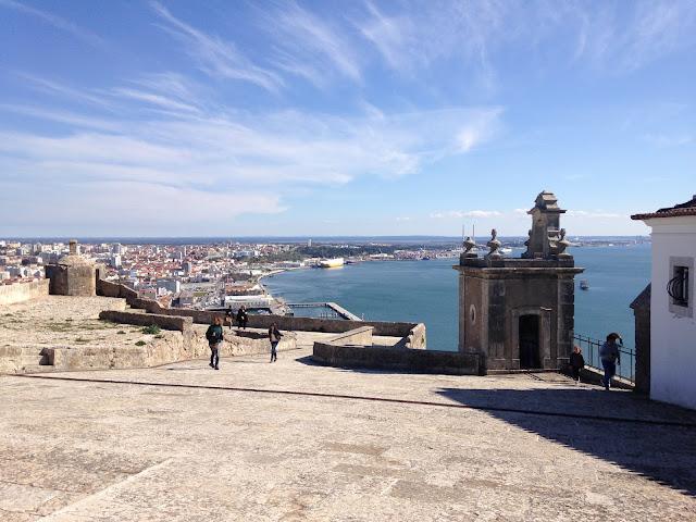 vista do Forte de São Filipe